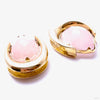 "Platform Saddle Spreader Weights with Rose Quartz in 1"" from Diablo Organics"