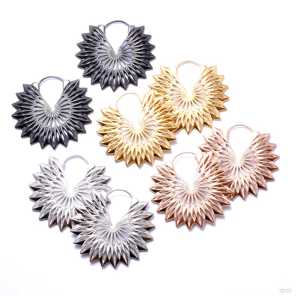 Protea Earrings from Tether Jewelry in assorted materials