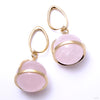Rose Quartz Globes with Brass Coils from Diablo Organics