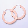 Royal Fang Earrings from Maya Jewelry in rose-gold-plated copper