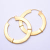Royal Fang Earrings from Maya Jewelry in yellow-gold-plated brass