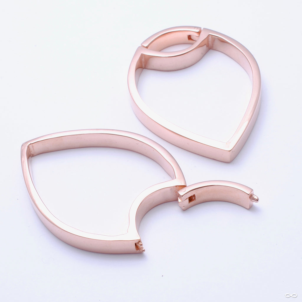 Sagittarius from Maya Jewelry in rose-gold-plated copper