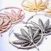 Sativa Earrings from Maya Jewelry in assorted materials