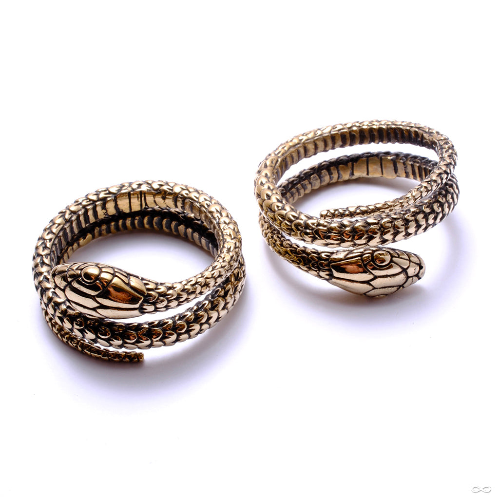 Snake Weights from Eleven44 in brass