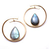 Stay Sexy Earrings from Buddha Jewelry with labradorite