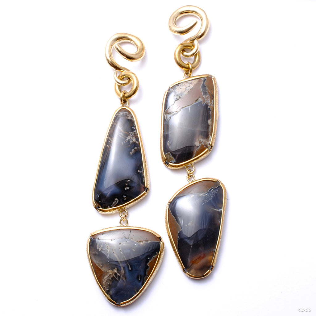 Thunder Egg Agate Dangles from Diablo Organics