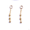 Trio Bead Charm in Gold from Pupil Hall in yellow gold