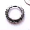 Vitae Clicker from Tether Jewelry in obsidian