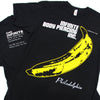 Infinite Body Piercing Andy Warhol Banana Black T-Shirt