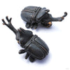Beetle Ear Weights in Bronze from Blessings to You in Patina Bronze
