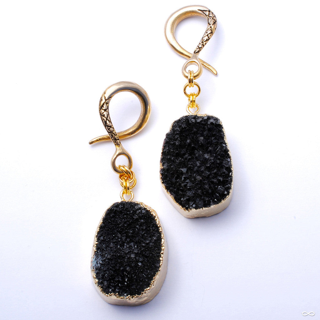 Crossovers with Black Druzy from Oracle