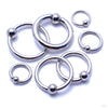 Captive Bead Rings from SM 316 in Assorted Sizes