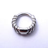 Chevronelle Clicker from Tether Jewelry in Steel