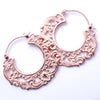 Duchess Earrings from Maya Jewelry in Rose Gold-plated Copper