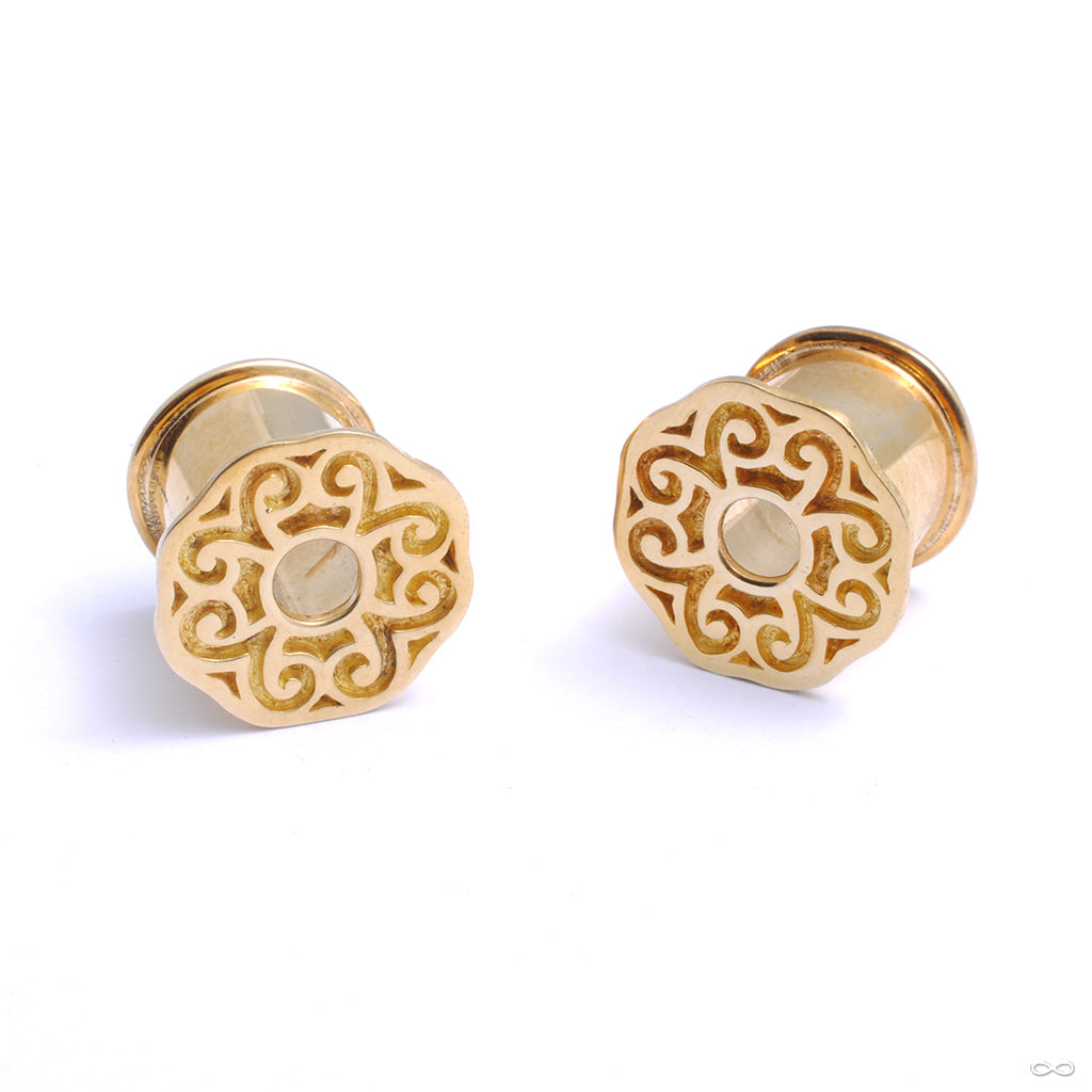Ban Chiang Eyelets from Diablo Organics with the pastoral design