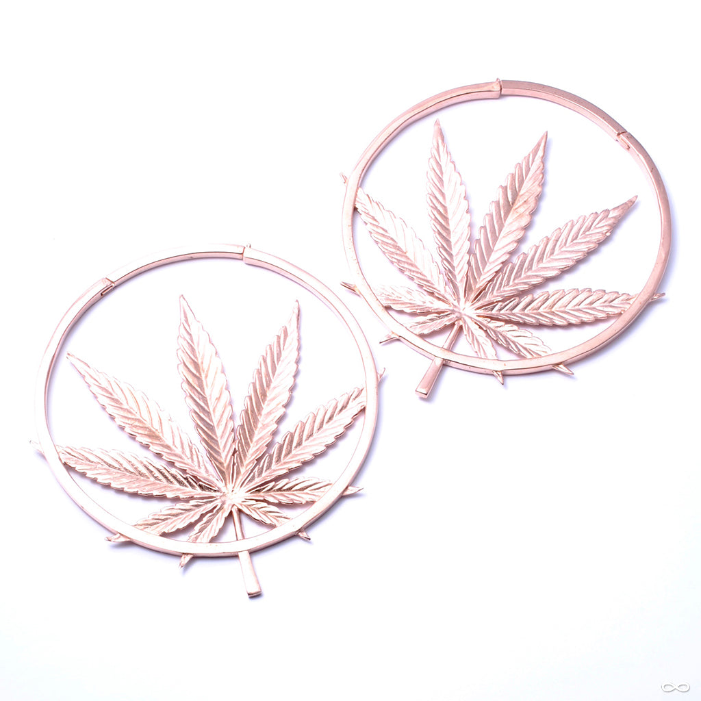 Sativa from Maya Jewelry in rose gold