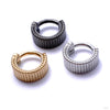 Eclipso Clickers from Tether Jewelry in Assorted Metals