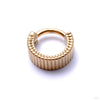 Eclipso Clicker from Tether Jewelry in Yellow Gold