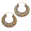 Empress Earrings from Maya Jewelry in Brass