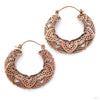 Empress Earrings from Maya Jewelry in Copper