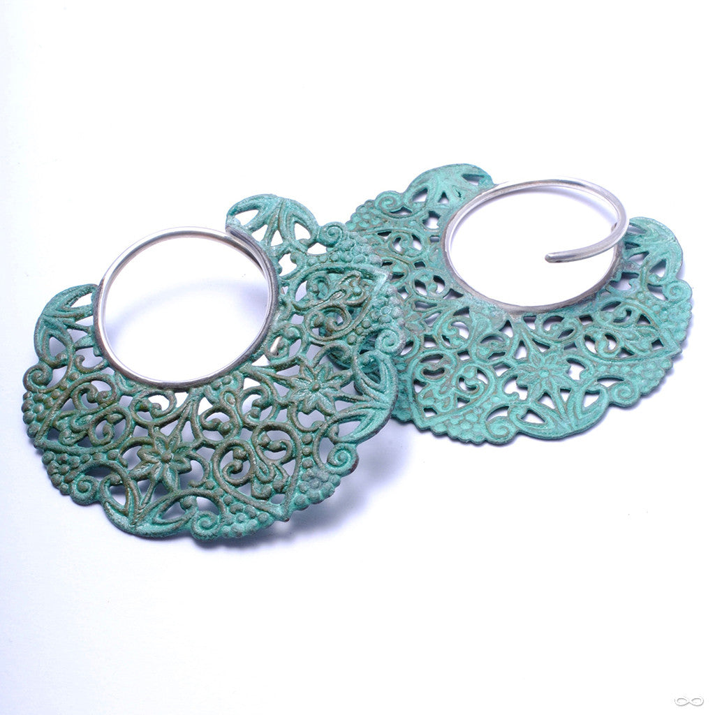Filigree with Verdigris Patina from Disco Medusa
