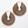 Forte Earrings from Maya Jewelry in Copper