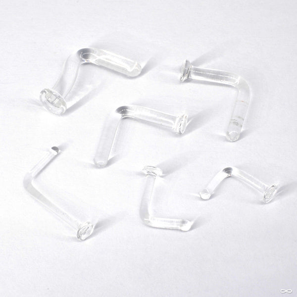 Glass Nostril Retainers from Gorilla Glass