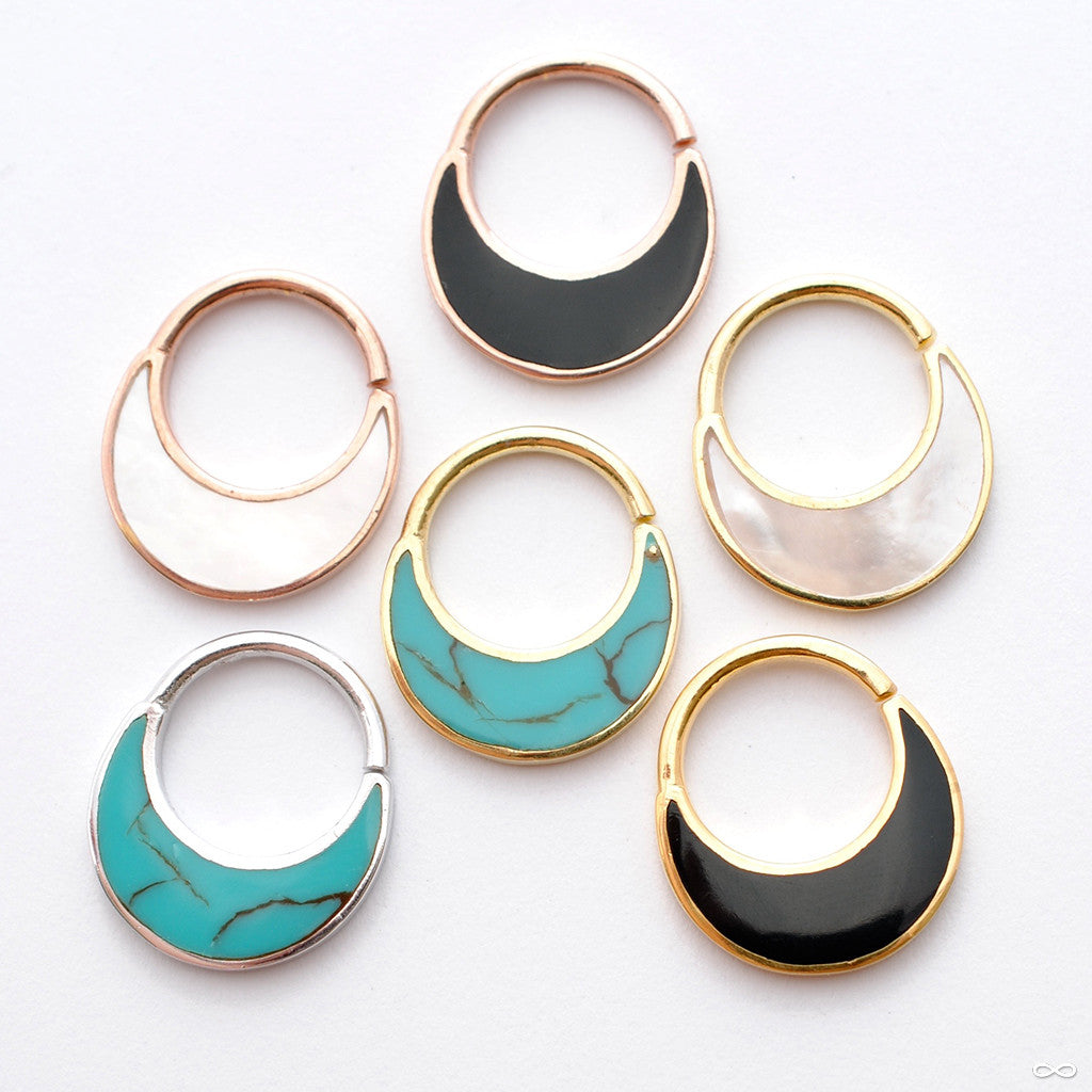 Haute Seam Ring in Gold from Buddha Jewelry in Assorted Colors