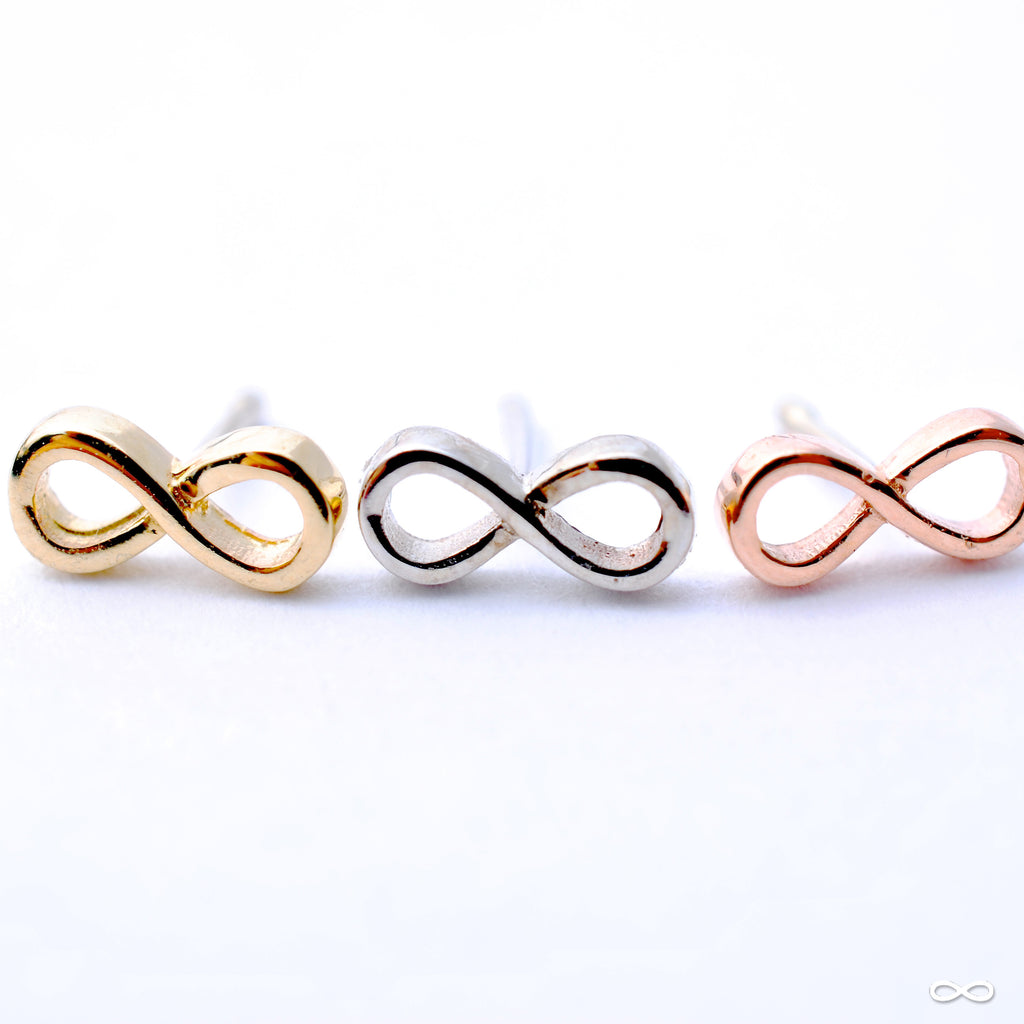 Infinity Press-fit End in Gold from BVLA in Rose Gold