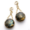 Labradorite Cushion Dangles from Diablo Organics