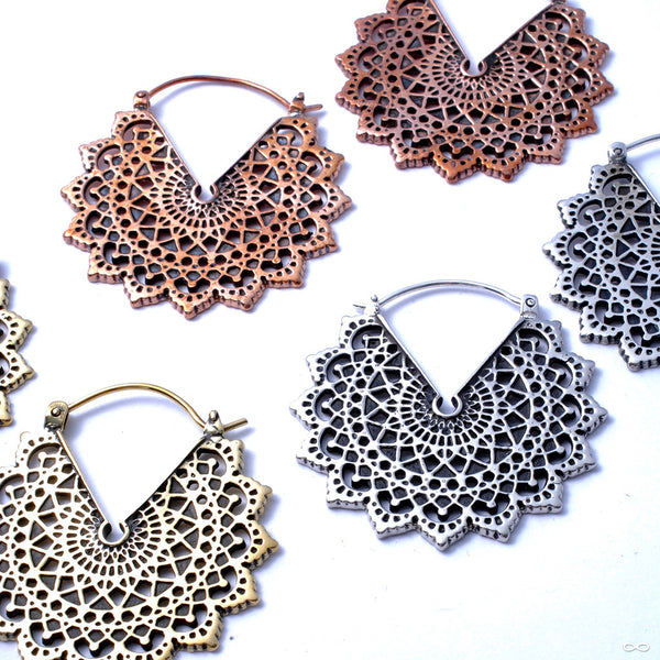 Majesty Black Earrings from Maya Jewelry in Assorted Metals