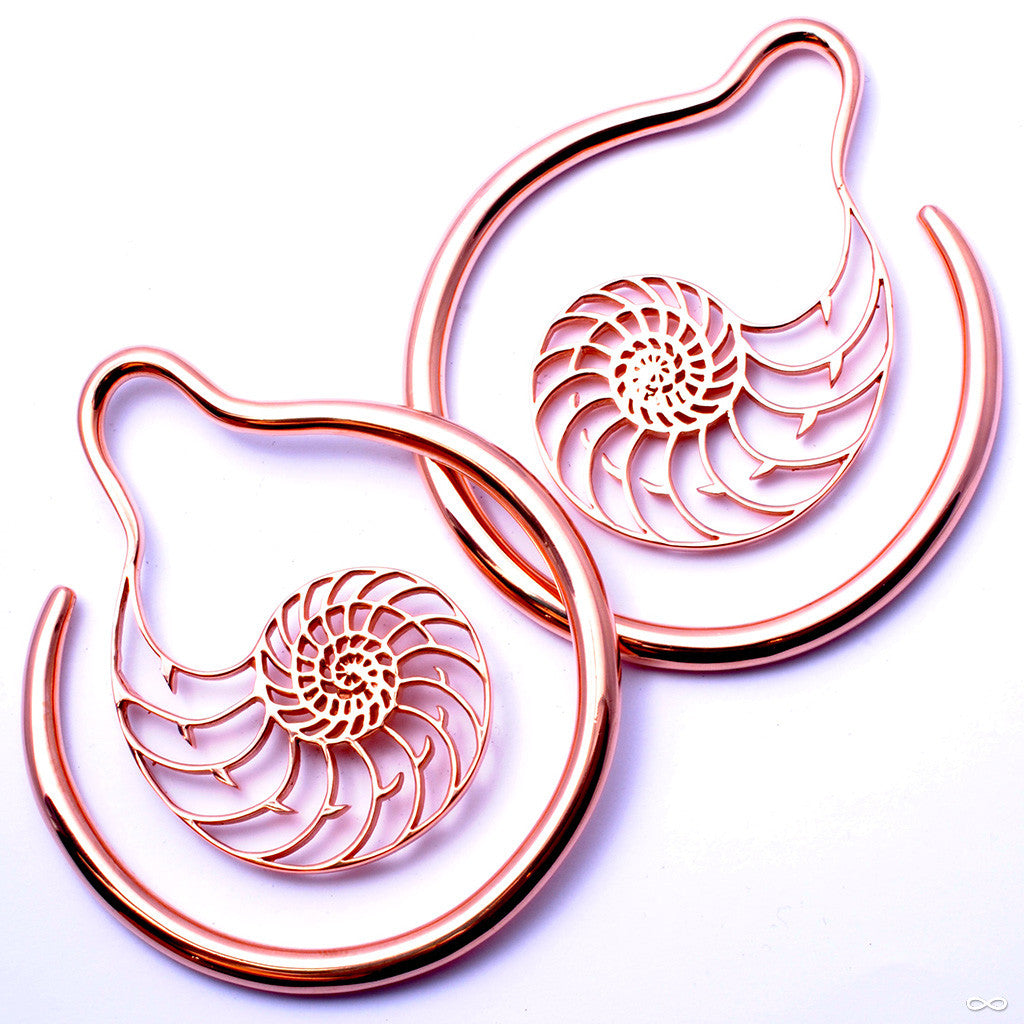 Meridian from Maya Jewelry in Rose Gold-Plated Copper