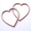 My Broken Heart from Maya Jewelry in Rose Gold Plated Brass