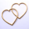 My Broken Heart from Maya Jewelry in Yellow Gold Plated Brass