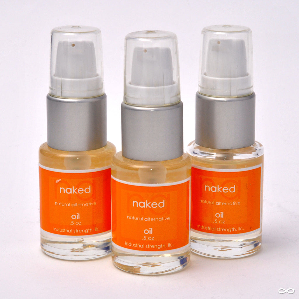 Industrial Strength LLC. Naked Oil, 0.5 oz. bottle