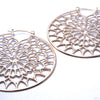 Notre Dame Earrings from Tawapa in Yellow Gold