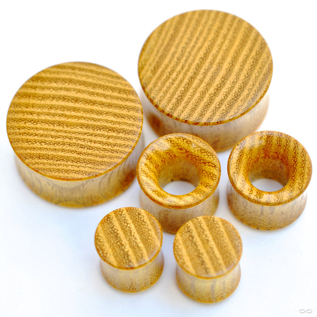 Osage Orange Plugs & Eyelets from Bishop Organics