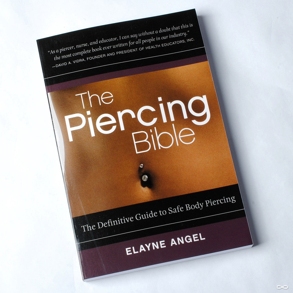 The Piercing Bible book by Elayne Angel