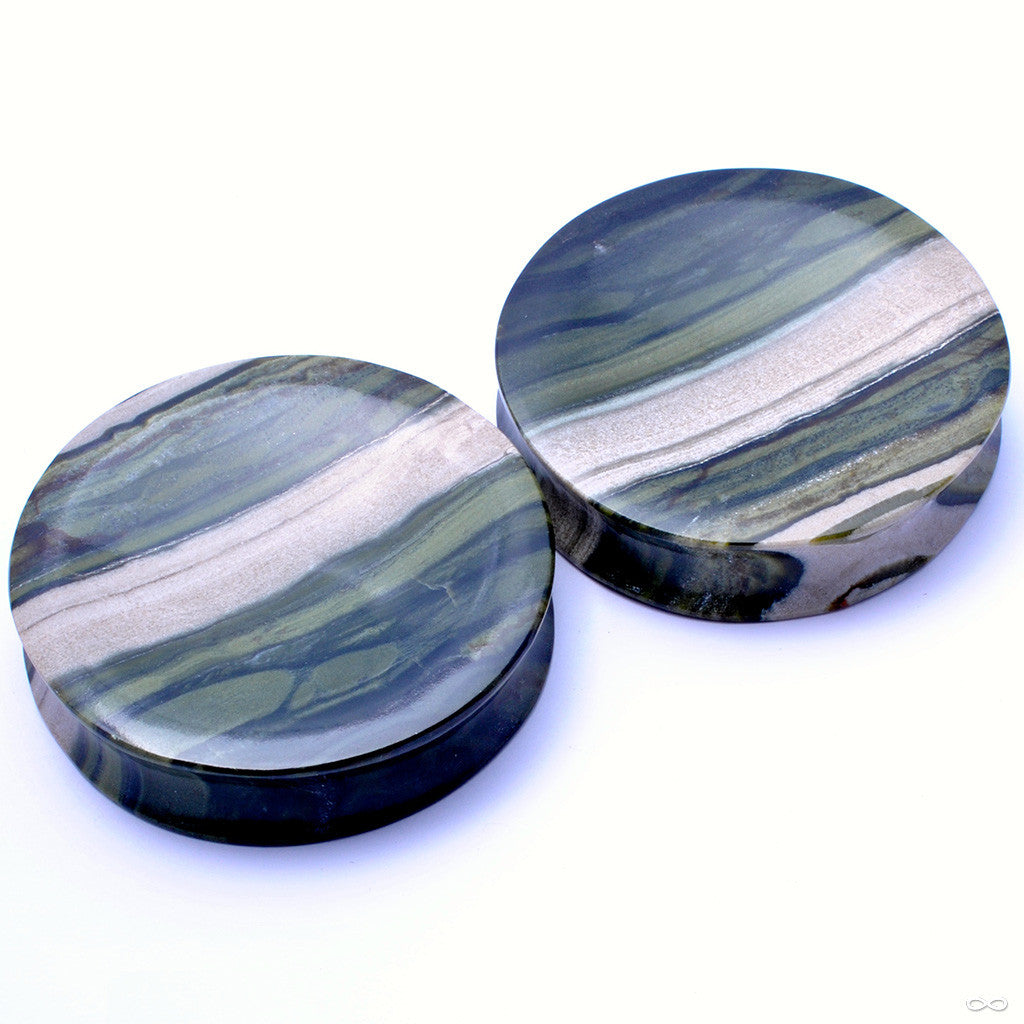 "Ricolite Plugs in 2"" from Relic Stoneworks"