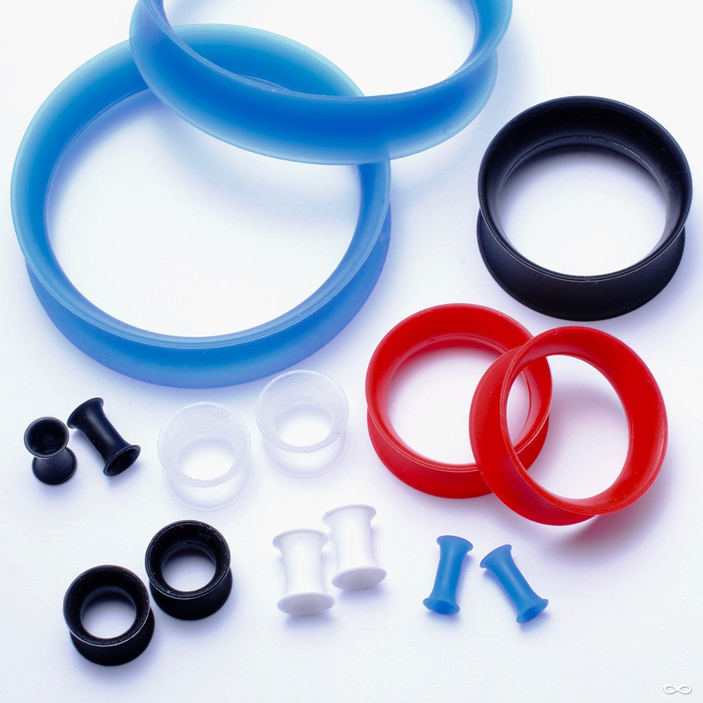 Silicone Skin Eyelet from Kaos in Blue