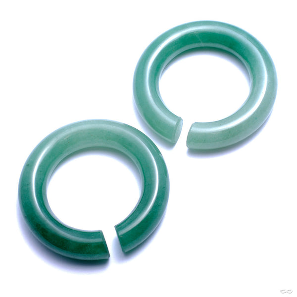 Aventurine Rings from Diablo Organics
