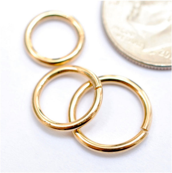 Seam Ring in Gold in 16g from LeRoi in Yellow Gold