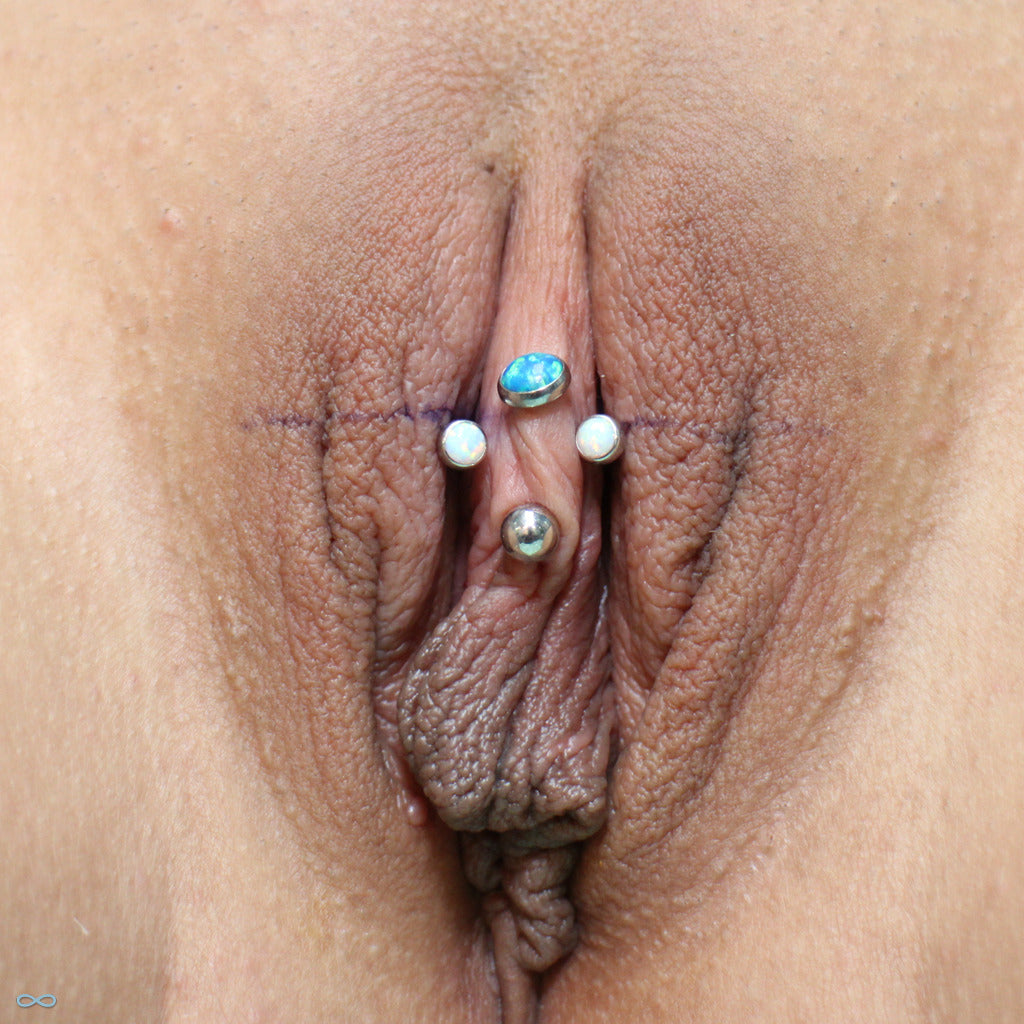 Multi clit piercings