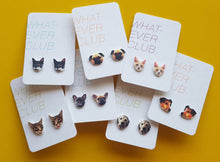 Custom pet earrings or pin