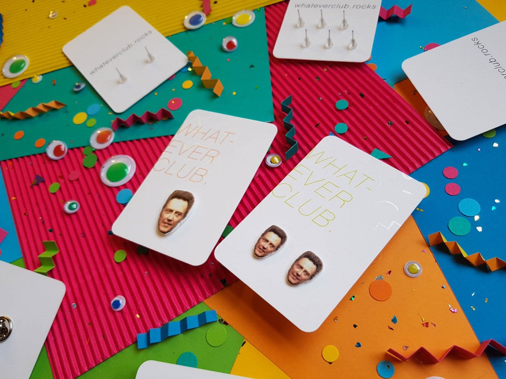 Christopher Walken earrings