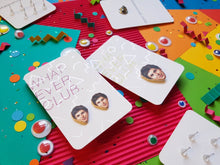 Michael Cera earrings