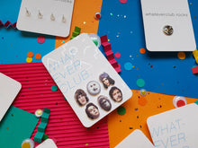 The Mighty Boosh set of 6 earrings