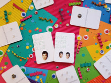Rick Astley 'Rickrolling' earrings