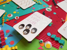 The Beatles set of 4 earrings