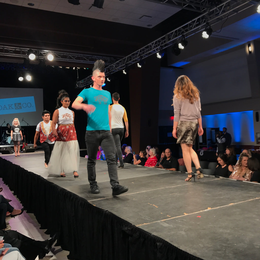 dak and collaboraties fargo fashion week